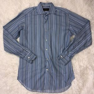 Etro 38 IT 15 US Small Button Down Shirt Striped